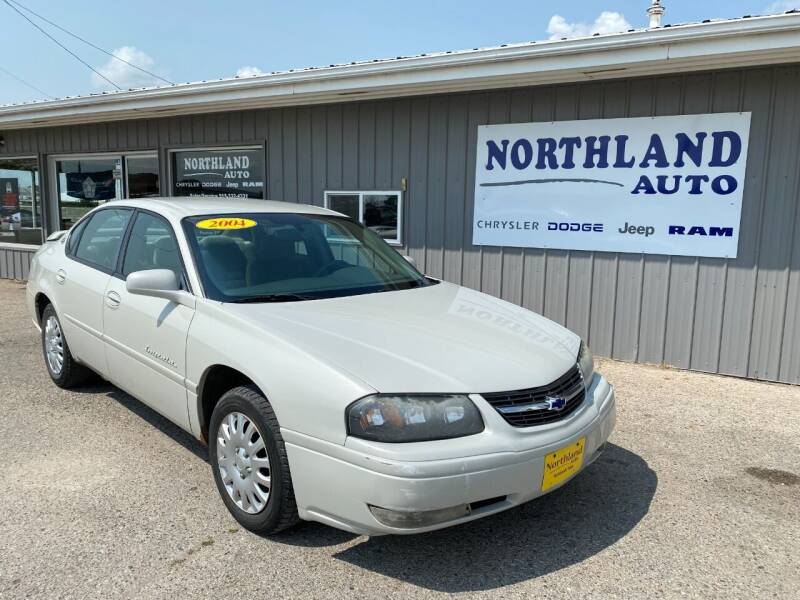 2004 Chevrolet Impala for sale at Northland Auto in Humboldt IA
