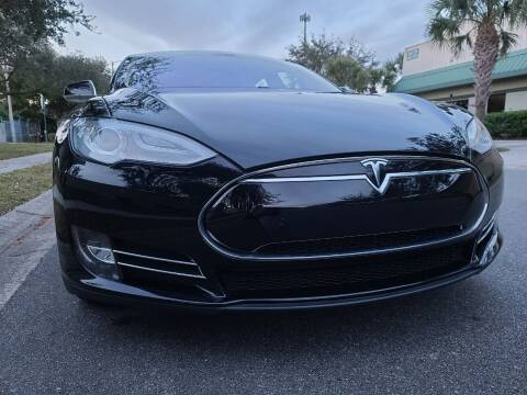 2014 Tesla Model S for sale at Monaco Motor Group in Orlando FL