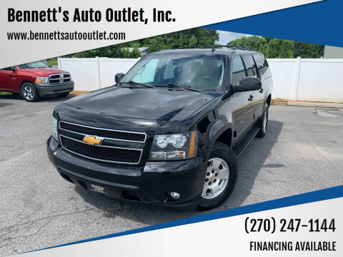 2014 Chevrolet Suburban for sale at Bennett's Auto Outlet, Inc. in Mayfield KY