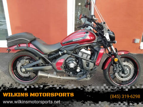2017 Kawasaki Vulcan 650 S for sale at WILKINS MOTORSPORTS in Brewster NY