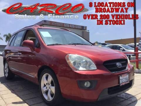 2007 Kia Rondo for sale at CARCO SALES & FINANCE - Under 7000 in Chula Vista CA