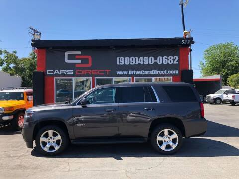 2015 Chevrolet Tahoe for sale at Cars Direct in Ontario CA