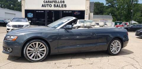 2010 Audi A5 for sale at Carafello's Auto Sales in Norfolk VA