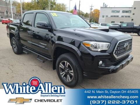 2018 Toyota Tacoma for sale at WHITE-ALLEN CHEVROLET in Dayton OH