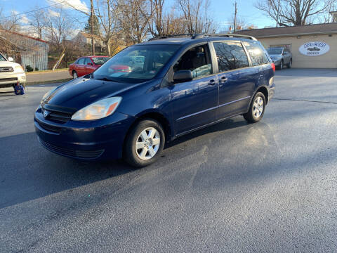 2004 Toyota Sienna for sale at KP'S Cars in Staunton VA
