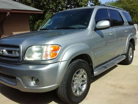 2001 Toyota Sequoia for sale at John 3:16 Motors in San Antonio TX