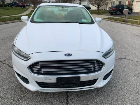 2014 Ford Fusion for sale at Via Roma Auto Sales in Columbus OH