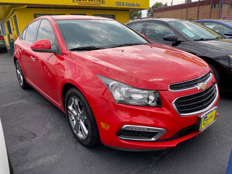 2016 Chevrolet Cruze Limited for sale at New Wave Auto Brokers & Sales in Denver CO