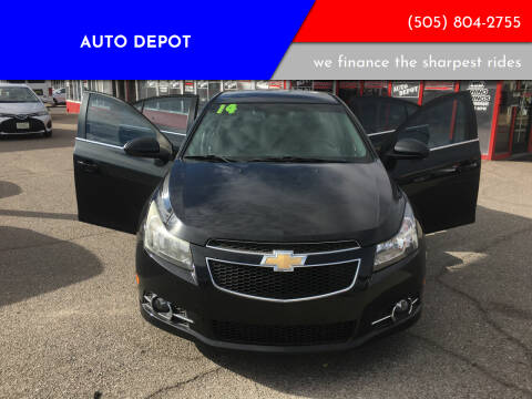 2014 Chevrolet Cruze for sale at Auto Depot in Albuquerque NM