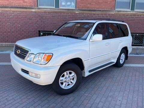2000 Lexus LX 470 for sale at Euroasian Auto Inc in Wichita KS