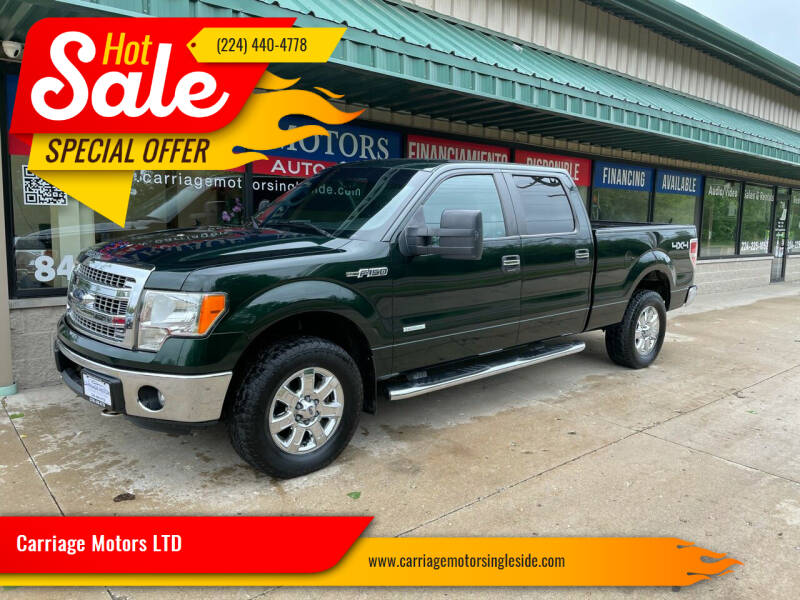 2013 Ford F-150 for sale at Carriage Motors LTD in Ingleside IL
