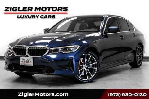 2019 BMW 3 Series for sale at Zigler Motors in Addison TX