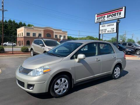 2008 Nissan Versa for sale at Auto Sports in Hickory NC