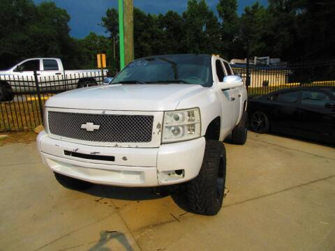2012 Chevrolet Silverado 1500 for sale at Garcia Trucks Auto Sales Inc. in Austell GA
