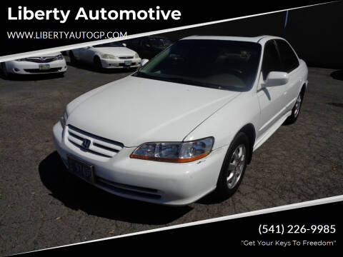 2002 Honda Accord for sale at Liberty Automotive in Grants Pass OR