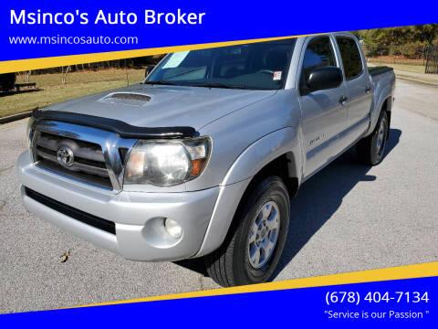 2009 Toyota Tacoma for sale at Msinco's Auto Broker in Snellville GA