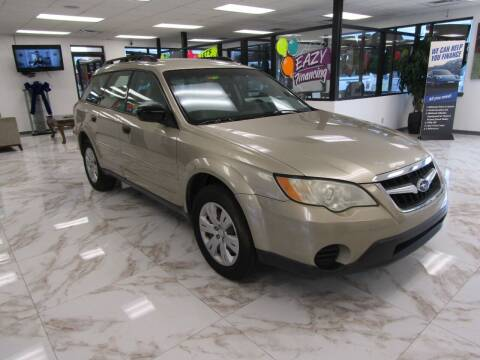 2008 Subaru Outback for sale at Dealer One Auto Credit in Oklahoma City OK