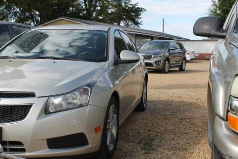 2013 Chevrolet Cruze for sale at Abc Quality Used Cars in Canton TX
