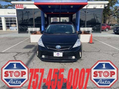 2013 Toyota Prius v for sale at 1 Stop Auto in Norfolk VA