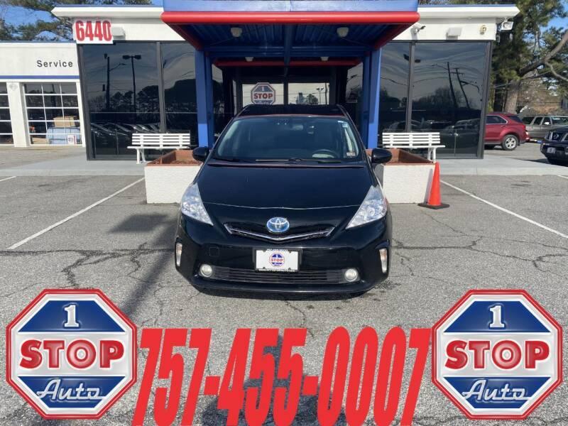 2013 Toyota Prius v for sale at 1 Stop Auto in Norfolk VA