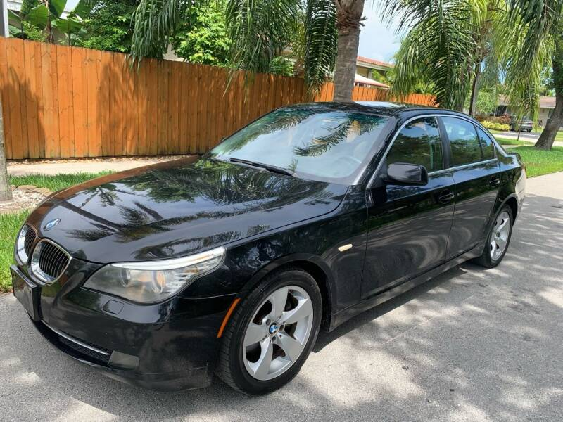 2008 BMW 5 Series for sale at FINANCIAL CLAIMS & SERVICING INC in Hollywood FL