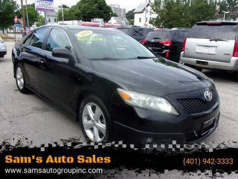 2010 Toyota Camry for sale at Sam's Auto Sales in Cranston RI