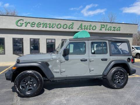 2018 Jeep Wrangler Unlimited for sale at Greenwood Auto Plaza in Greenwood MO
