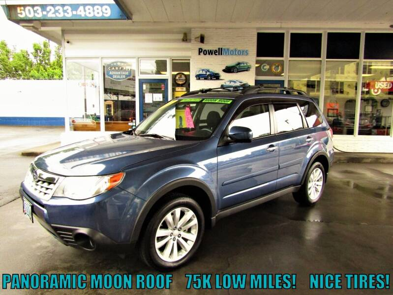 2011 Subaru Forester for sale at Powell Motors Inc in Portland OR