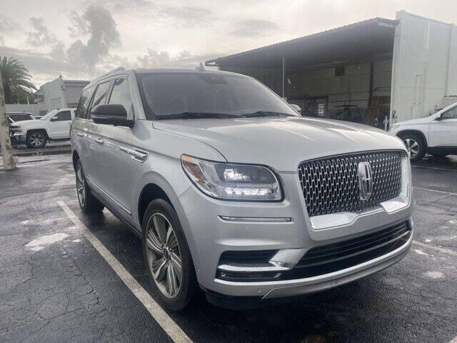 2018 Lincoln Navigator for sale in Lauderhill, FL