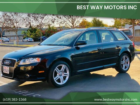 2008 Audi A4 for sale at BEST WAY MOTORS INC in San Diego CA