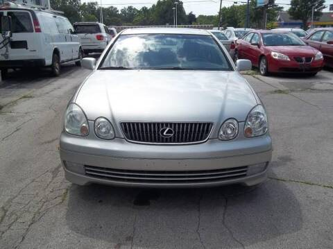 2001 Lexus GS 300 for sale at Royal Motors - 33 S. Byrne Rd Lot in Toledo OH