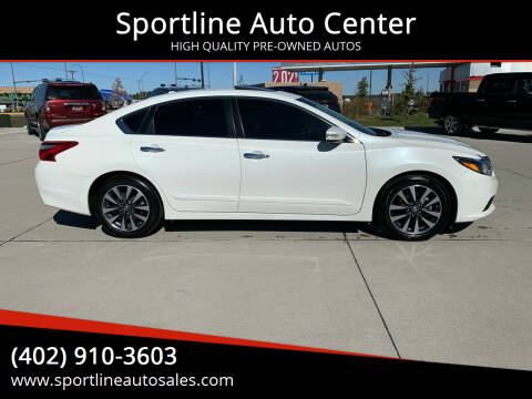 2016 Nissan Altima for sale at Sportline Auto Center in Columbus NE