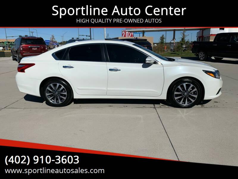 2016 Nissan Altima for sale at Sportline Auto Center in Columbus NE