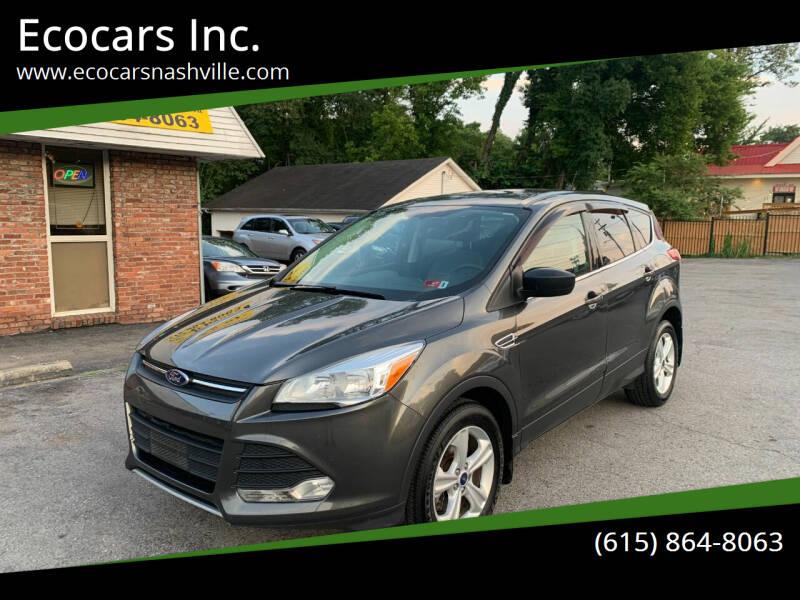 2015 Ford Escape for sale at Ecocars Inc. in Nashville TN