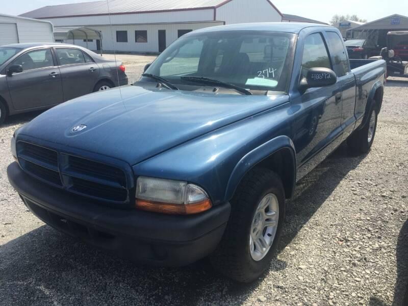 2003 Dodge Dakota for sale at CAROLINA TOY SHOP LLC in Hartsville SC