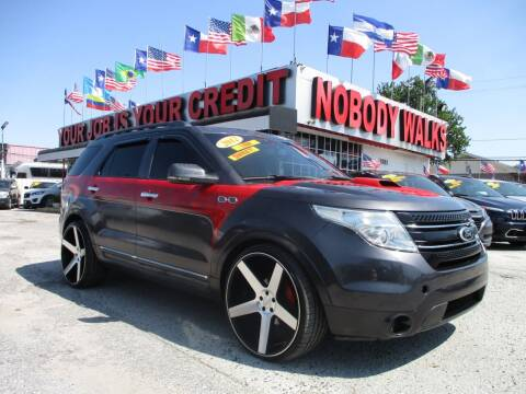 2012 Ford Explorer for sale at Giant Auto Mart 2 in Houston TX