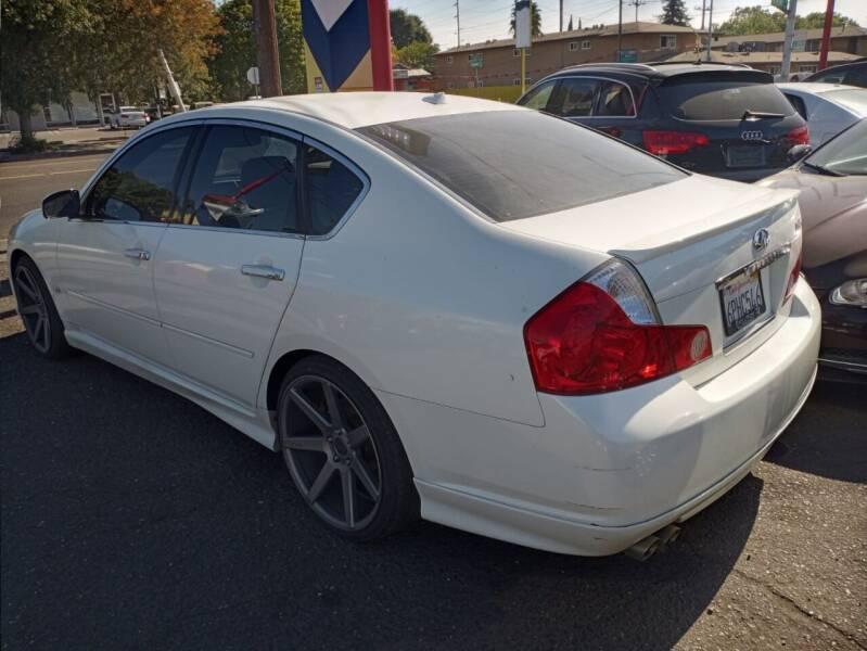 2007 Infiniti M45 for sale at McHenry Auto Sales in Modesto CA