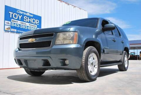2009 Chevrolet Tahoe for sale at CAROLINA TOY SHOP LLC in Hartsville SC