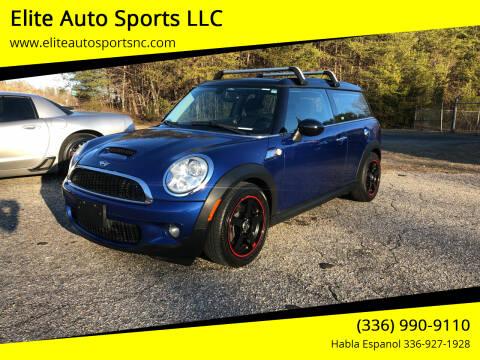2009 MINI Cooper Clubman for sale at Elite Auto Sports LLC in Wilkesboro NC