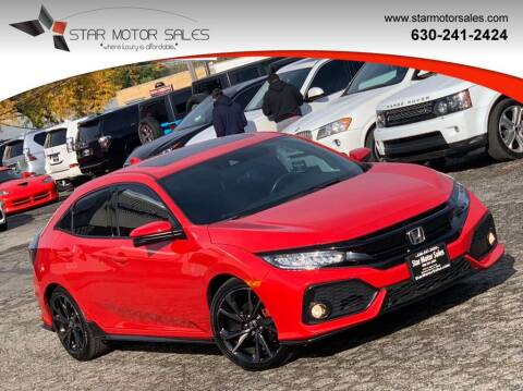 2017 Honda Civic for sale at Star Motor Sales in Downers Grove IL