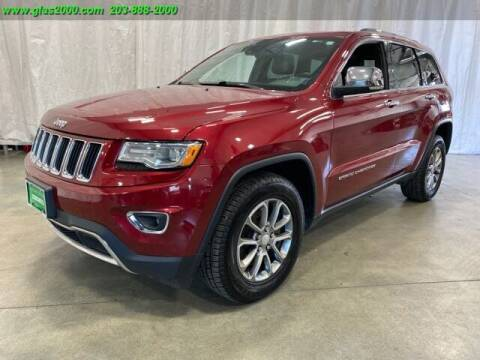 2014 Jeep Grand Cherokee for sale at Green Light Auto Sales LLC in Bethany CT