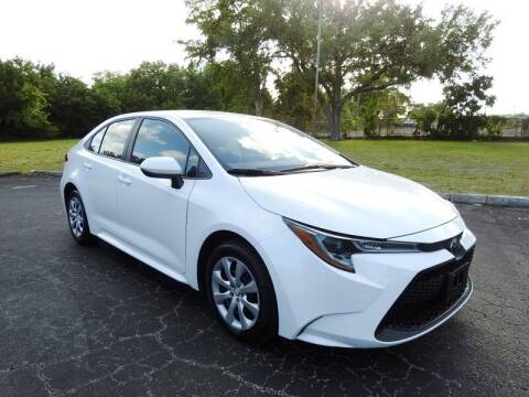 2020 Toyota Corolla for sale at SUPER DEAL MOTORS 441 in Hollywood FL