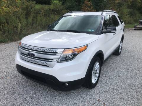 2014 Ford Explorer for sale at R.A. Auto Sales in East Liverpool OH