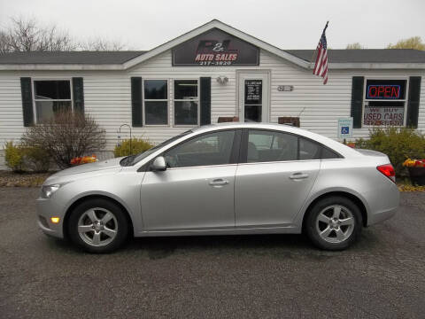 2012 Chevrolet Cruze for sale at R & L AUTO SALES in Mattawan MI