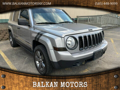 2015 Jeep Patriot for sale at BALKAN MOTORS in East Rochester NY