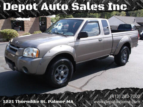 2004 Nissan Frontier for sale at Depot Auto Sales Inc in Palmer MA