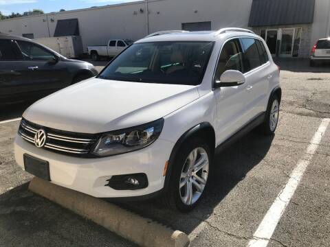 2013 Volkswagen Tiguan for sale at Reliable Auto Sales in Plano TX