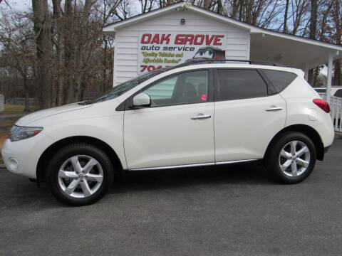 2010 Nissan Murano for sale at Oak Grove Auto Sales in Kings Mountain NC