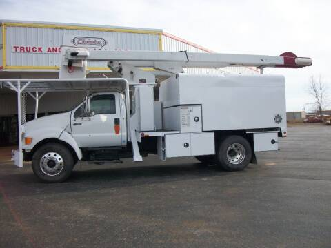 2007 Ford F750 Chip Truck for sale at Classics Truck and Equipment Sales in Cadiz KY