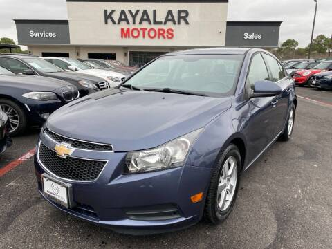 2014 Chevrolet Cruze for sale at KAYALAR MOTORS in Houston TX